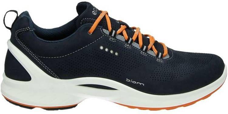 Ecco Biom Fjuel nubuck lage wandelschoenen donkerblauw online kopen