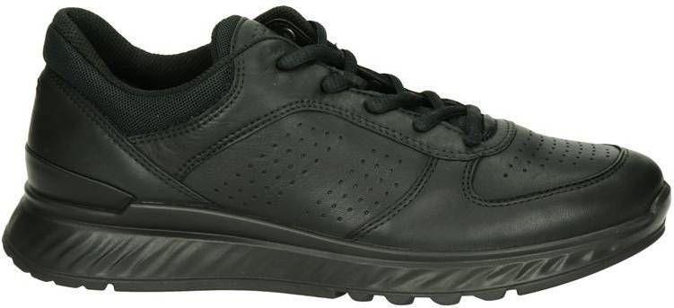 Ecco Exostride comfort leren sneakers zwart online kopen