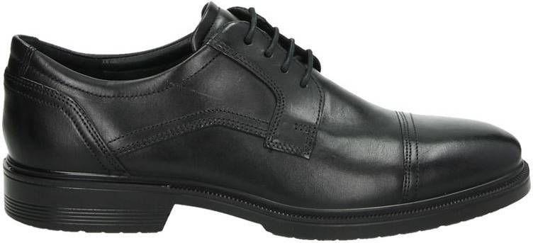 Ecco Lisbon lage nette schoenen zwart online kopen
