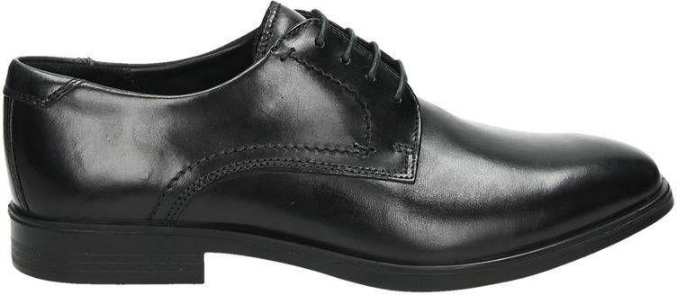 Ecco Melbourne lage nette schoenen zwart online kopen