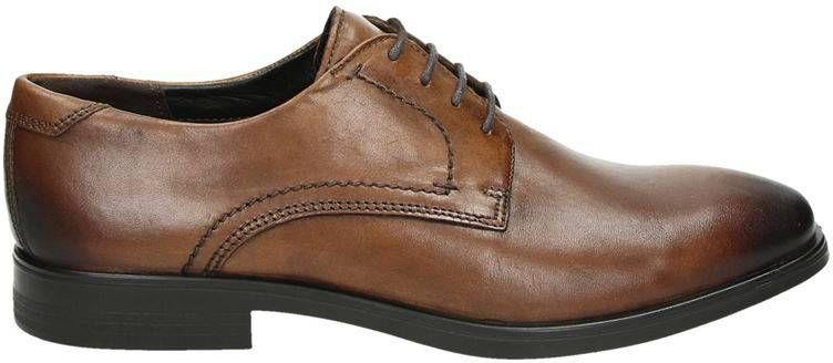 Ecco Melbourne lage nette schoenen cognac online kopen