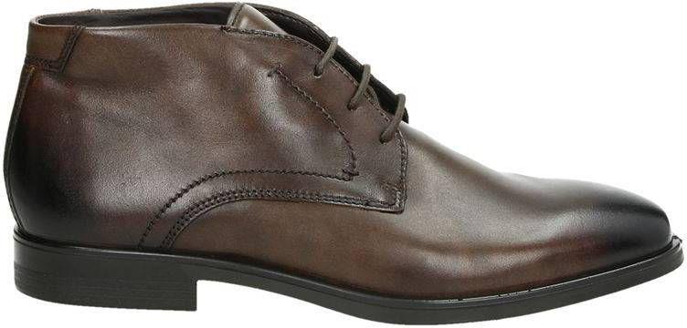 Ecco Melbourne hoge nette schoenen bruin online kopen