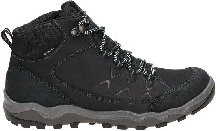 Ecco Ulterra nubuck wandelschoenen zwart online kopen