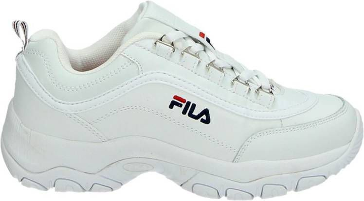 Fila Strada dad sneakers wit