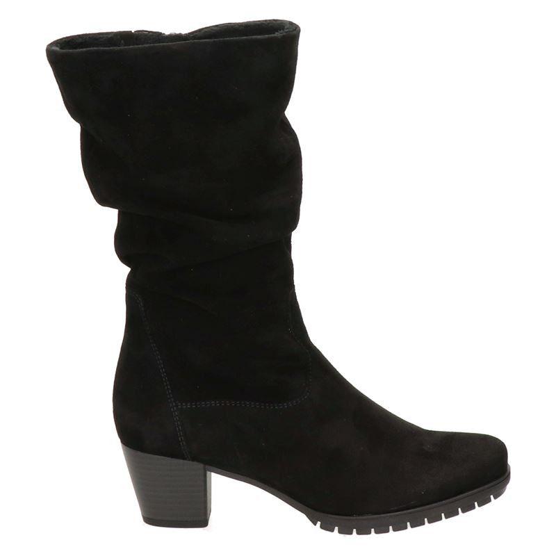 Gabor suède laarzen zwart online kopen