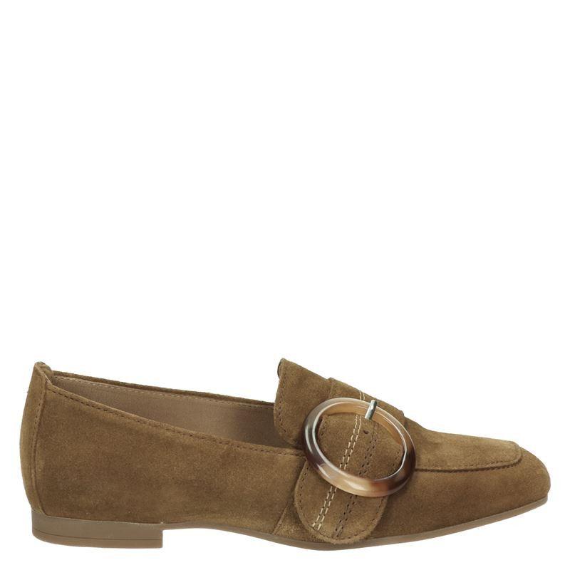 Gabor suède loafers bruin online kopen