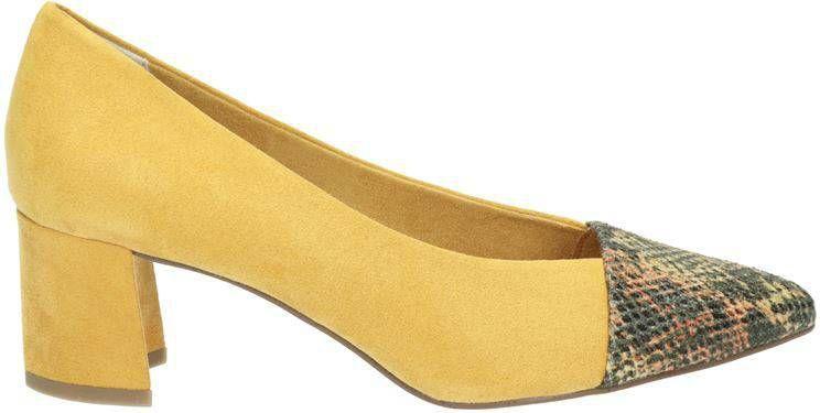 Marco Tozzi pumps geel/slangenprint online kopen