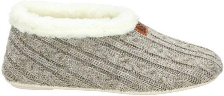 Nelson Home pantoffels grijs online kopen