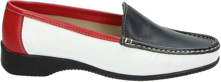 Nelson mocassins & loafers rood