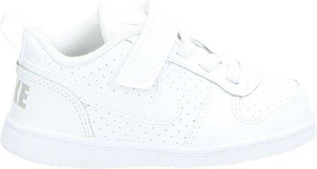 Nike Court Borough Toddle klittenbandschoenen wit