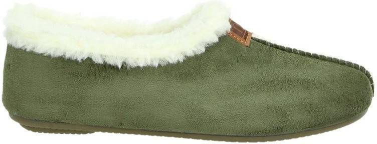 Nelson Home pantoffels groen online kopen
