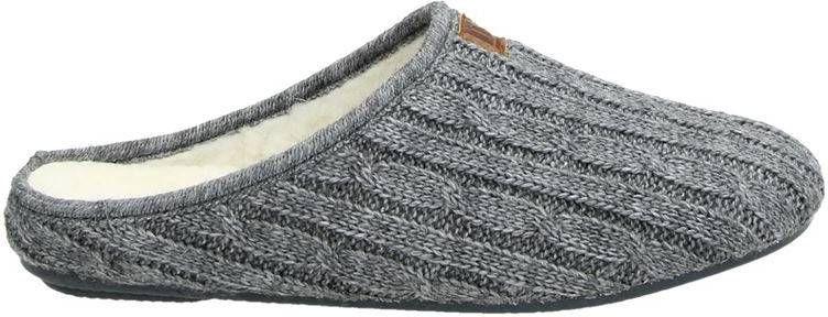 Nelson Home gemêleerde pantoffels grijs online kopen