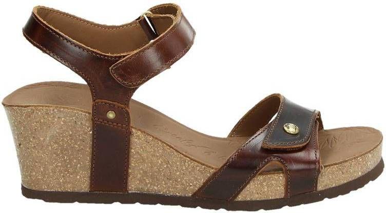 Panama Jack Julia Clay Julia Clay sandalettes cognac online kopen