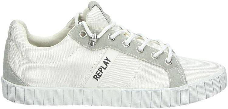 86563765756 Replay lage sneakers wit - Frontrunner.nl