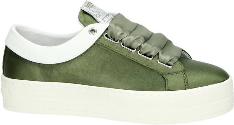 Replay lage sneakers groen