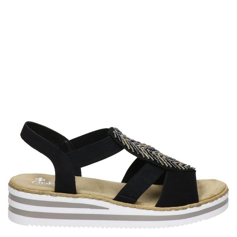Rieker sandalen zwart online kopen