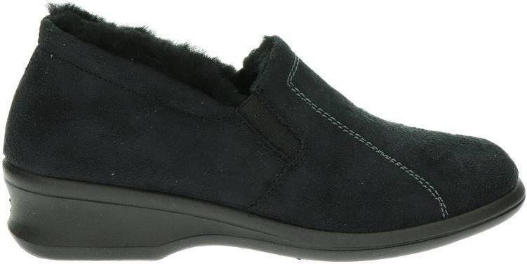Rohde pantoffels zwart online kopen