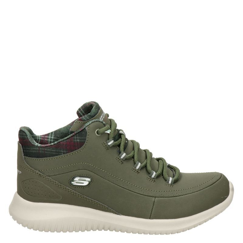Skechers wandelschoenen kaki online kopen