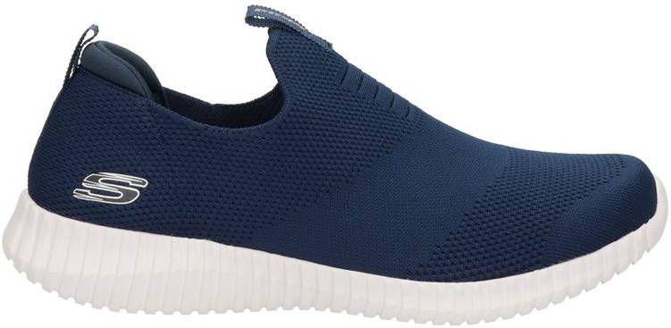 Skechers instappers blauw online kopen