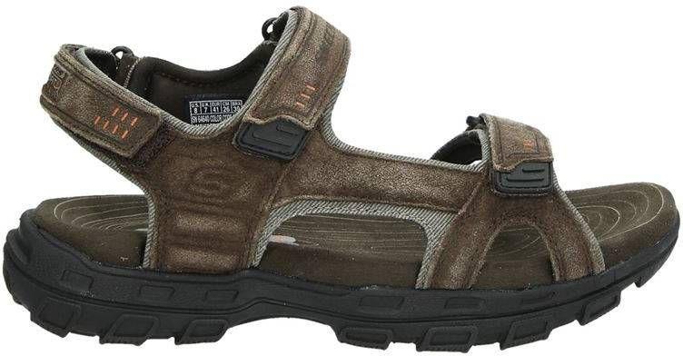 Skechers suède sandalen bruin online kopen