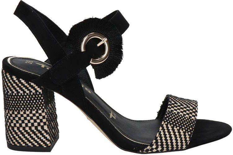 Tamaris sandalettes zwart online kopen