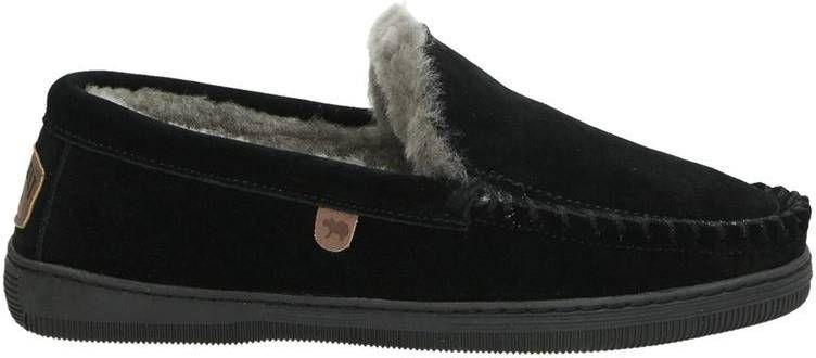 Warmbat Australia Grizzly pantoffels zwart online kopen