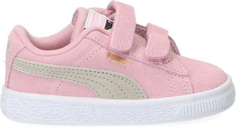 Puma Suede Classic Sneaker Meisjes Roze Vindjeschoen.nl