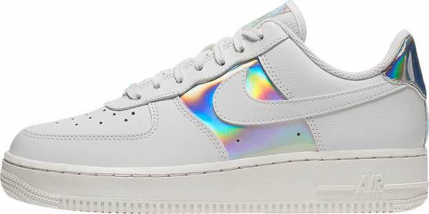 Nike Air Force 1 Hi sneakers in driedubbel wit