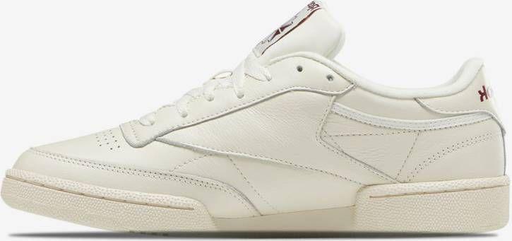 Reebok club c 85 vintage schoenen Chalk / Paperwhite / Maroon Dames online kopen