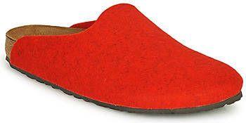 Birkenstock Birrkenstock amsterdam melange red felt narrow Rood 40 (UK 6,5) online kopen