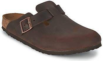 Birkenstock Boston habanna oiled leather small bruin online kopen