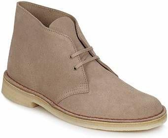 Boots en enkellaarsjes Clarks Originals Beige online kopen