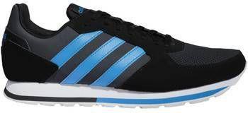 Adidas 8K leren sneakers zwartoranjewit Vindjeschoen.nl