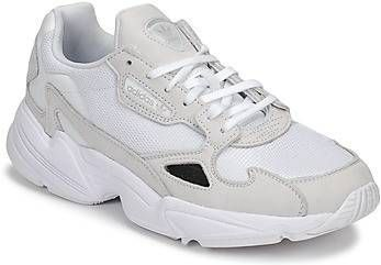 Adidas Originals Falcon Sneakers in zwart en wit