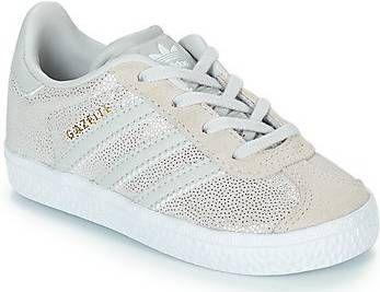 18eb7c7ed1c Adidas originals Gazelle C suede sneakers beige/grijs - Frontrunner.nl