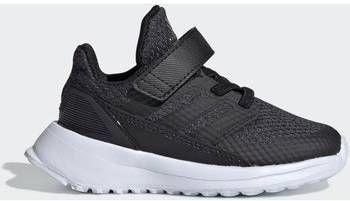 Adidas performance RapidaRun K hardloopschoenen antracietzwart kids