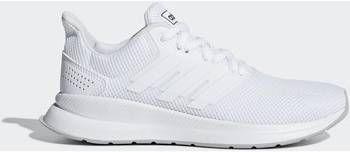 Adidas Performance Run Falcon Runfalcon hardloopschoenen wit/grijs kids online kopen
