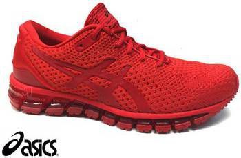 asics rood sneakers