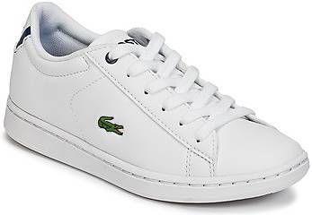 Lacoste Carnaby Evo BL 1 SUC sneakers wit/donkerblauw online kopen