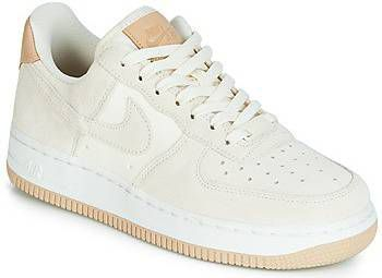 Nike Air Force 1 '07 Beige premium sneakers met rubberzool