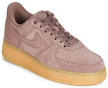 Nike Mauve Air Force 1 Sneakers met rubberen zool ...