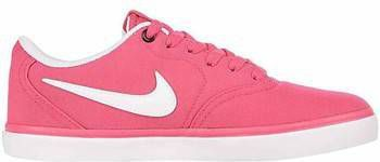 Nike SB Check Solarsoft Canvas Skateschoen voor dames Roze