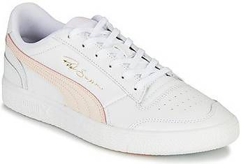 Puma Ralph Sampson Lo leren sneakers wit/lichtroze online kopen