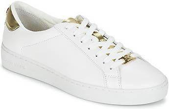 Michael Kors Irving Kanten Witte Gouden Sneaker online kopen