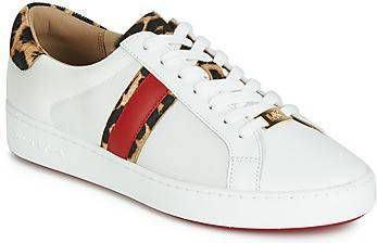 d05afbe764b Michael Kors Irving Stripe Lace Up Optic White/Natural Damessneakers online  kopen