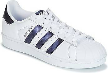 Adidas Originals Superstar CG5464 Wit Paars-38 2/3 maat 38 2/3