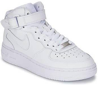 Nike Air Force 1 Mid 06 jongensschoen Wit