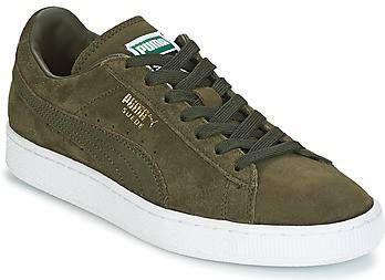Puma Court Star Suède schoenen heren grijswit   Fitness Geest