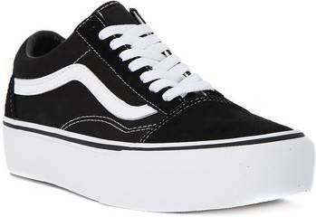 Vans Old Skool Platform VN0A3BUY281 Zwart Wit 41 maat 41