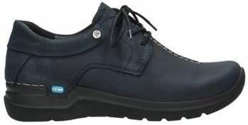 Lage Sneakers Wolky 06603 Wasco 11800 blauw nubuck online kopen